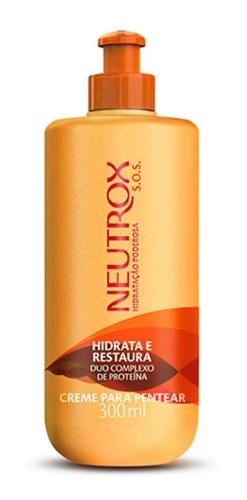 Imagem 1 de 1 de Neutrox Sos Hidratação Poderosa Creme P/ Pentear 300ml