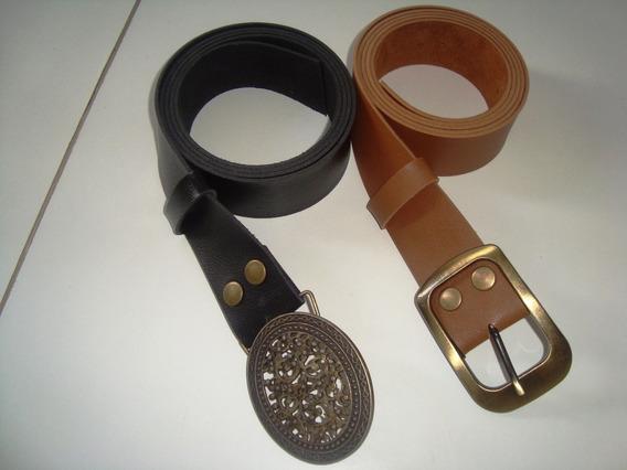 Cinto Feminino Plus Size - 150cm Compr. Sintético-kit C/ 2