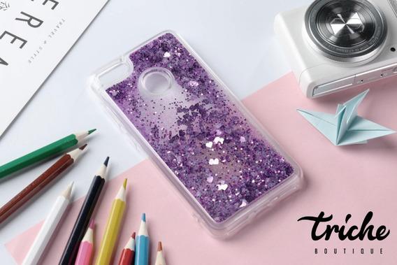 Funda Case Diseño Brillos Pecera Colores Huawei P9 Lite 2017