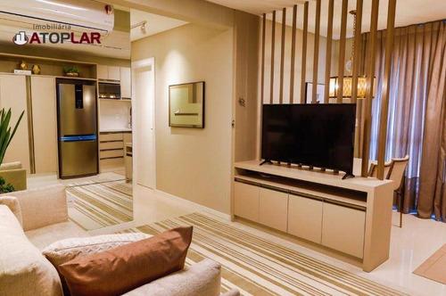 Apartamento À Venda, 60 M² Por R$ 639.000,00 - Jardim Praia Mar - Itapema/sc - Ap0790