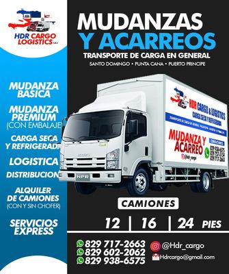 Alquiler De Camiones Con Y Sin Choferes / Transporte Gral