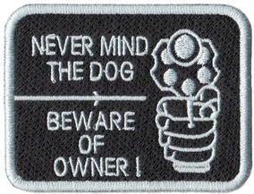 Bordado Patch Talysma P/ Camiseta - Pet Cuidado Com O Dono