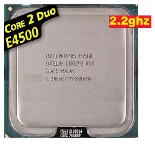 Processador - Core 2 Duo - 2.2 Ghz - E4500
