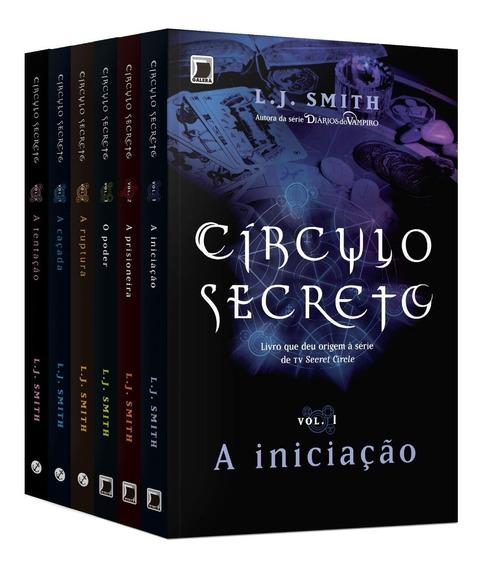 Kit Círculo Secreto 06 Volumes / L.j. Smith