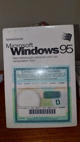 Windows 95 Original Lacrado (para Colecionador)