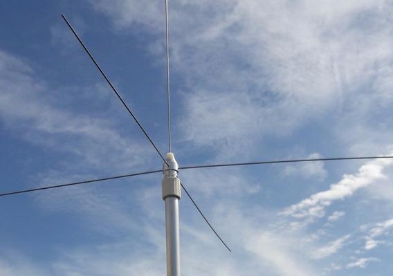 Antena Fixa (base) Vhf 1/4 De Onda Plano Terra Aviação Rps30