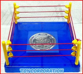 Ring Cuadrilátero Para Figuras 100% Lucha Catch Combate Wwe