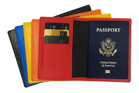 Portapasaporte Vinilico Chico Verage Varios Colores (vg5032)