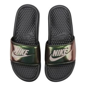 Chinelo Feminino Nike Benassi Jdi Print Original - Disports