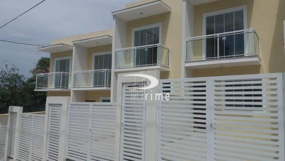 Casa Com 2 Dormitórios À Venda Por R$ 165.000,00 - Tribobó - São Gonçalo/rj - Ca0812