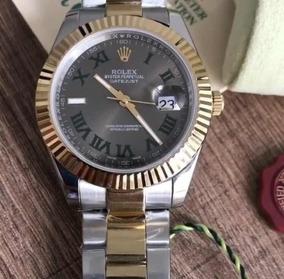 Relógio Rlx D.a.t.e.j.u.s.t ,automático, Acabamento Eta