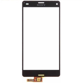 Kit 10 Touch Sony Xperia Z3 Mini Compact D5803 D5833 Preto
