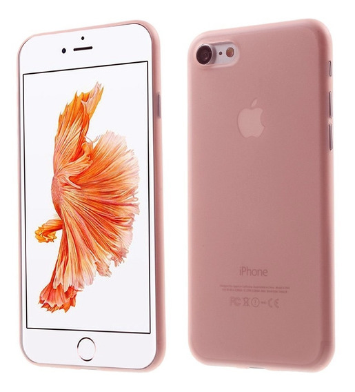 Case Mate Translucida Ultra Delgada Rígida iPhone 5 Se 6 7 8
