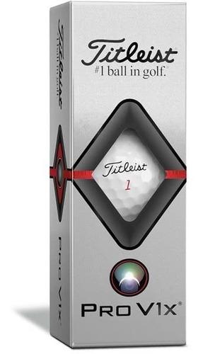 Pelotas Pro V1 X Titleist De 3 Unidades Golflab