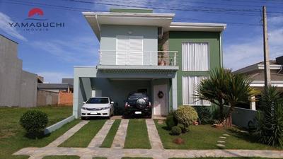 Casa Residencial À Venda Com 235 M² No Condomínio Terras Do Fontanário, Paulínia. - Codigo: Ca0044 - Ca0044