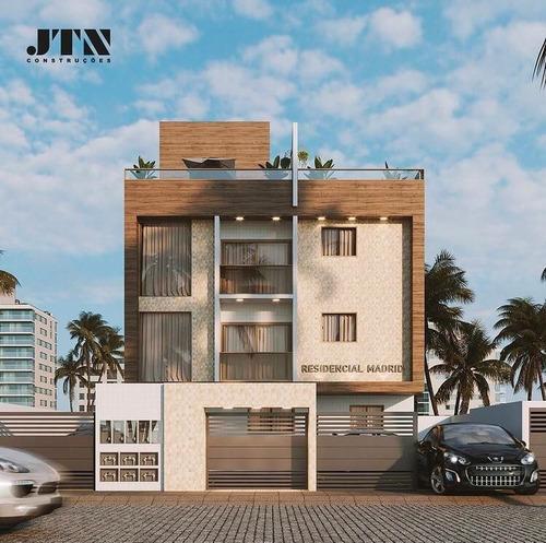 Imagem 1 de 7 de Apartamento À Venda, 51 M² Por R$ 177.000,00 - Jaguaribe - João Pessoa/pb - Ap0614