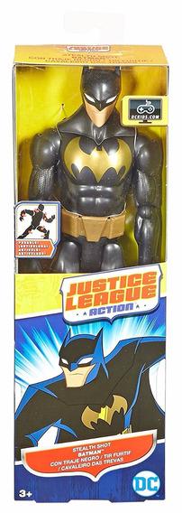 Dc Comics Liga Da Justiça Action - Batman Gold - Mattel