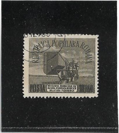 (**) Romenia (posta Romana) Stampworld 1465 - 1953 - Usado