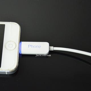 Cable Usb Para iPhone Con Luz