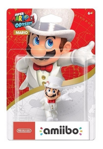 Amiibo Super Mario Odyssey Wedding Outfit Switch New 3ds 2ds