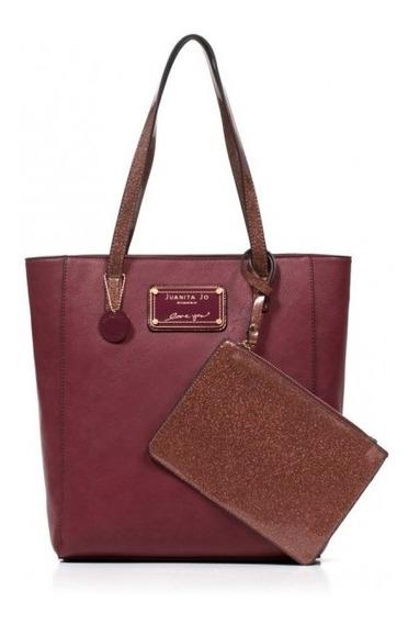 Cartera Juanita Jo Shopping Bag Gatti (10807)) Aw20.garantia