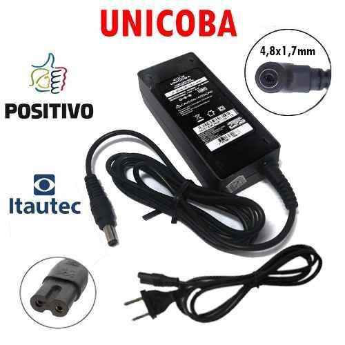 Carregador De Notebook P/ Itautec 19v 2,1a A7520 A7420 Novo
