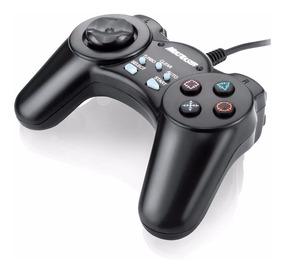 Gamer Joystick Controle Pc Slow Multilaser Usb 12 Botões