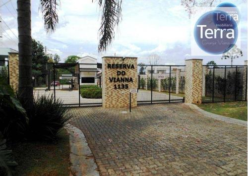 Imagem 1 de 4 de Terreno À Venda, 525 M² Por R$ 760.000,00 - Reserva Do Vianna - Cotia/sp - Te0817