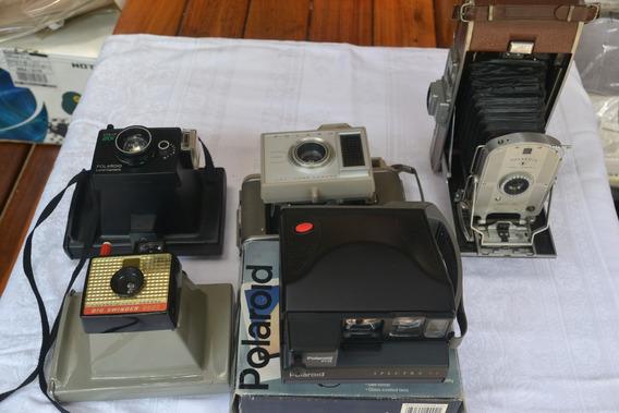 Coleção De Máquinas Polaroid