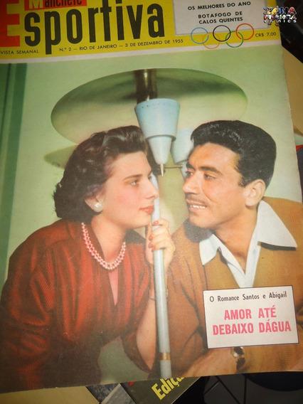Manchete Esportiva Nº 02 Nelson Rodrigues Poster Dez 1955