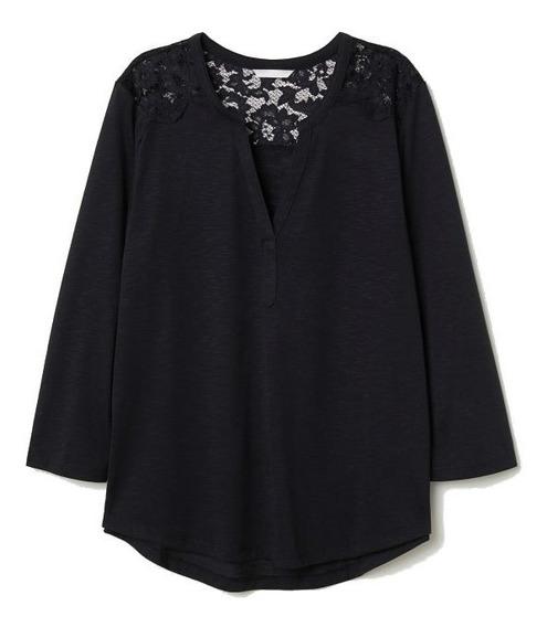 Camisa Remera H&m Mujer Importada Con Etiqueta