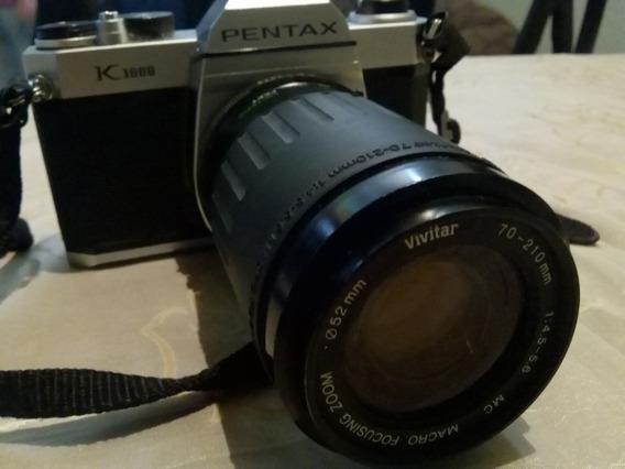 Cámara Fotográfica Analógica Pentax K1000