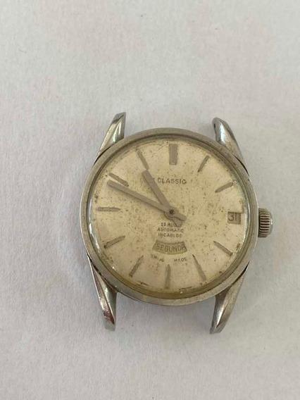 Relógio Classic Automático (não Está Funcionando)