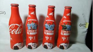 Lote De 4 Botellas De Coca La Copa De Todo El Mundo Brasil