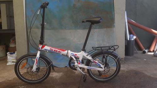 Bicicleta Plegable Sbk Folding Rodado 20