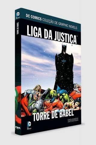 Dc Graphic Novels- Liga Da Justiça Torre De Babel V4
