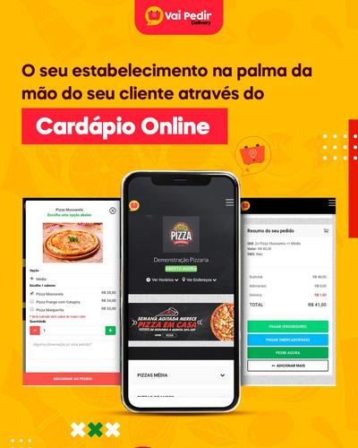 Site Cardápio Online Para Pedidos Delivery, Pizzarias,