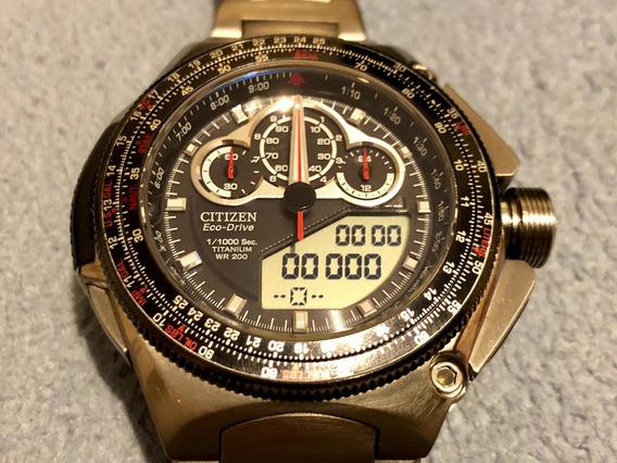 Citizen Eco-drive Promaster Super Cronograph Jw0071-58e