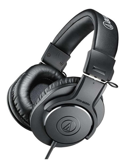 Fone Audio Technica Ath-m20x -profissional - Promoção!