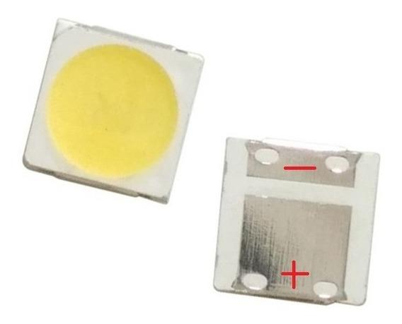 Pack X 10 Led Smd 3535 2w 6v 135lm Blanco Backlight Tv Lcd