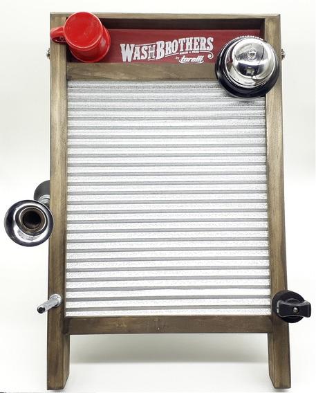 Washboard Torelli Em Aço Inox Torelli Twb-39 Grande