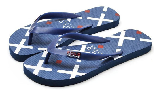 Chinelo Masculino Polo Culture Marinho Super Confortavel