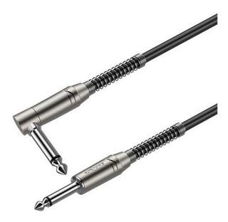 Roxtone Sgjj110l6 Cable Plug Plug En L 6 Mts House Music