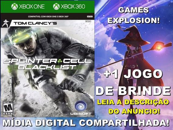 Splinter Cell Blacklist Xbox 360/one +1 Jogo - Mídia Digital