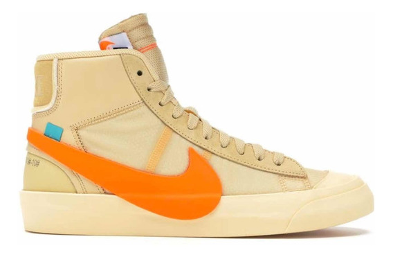 Sneakers Nike Blazer Mid Off White All Hallows Eve Org