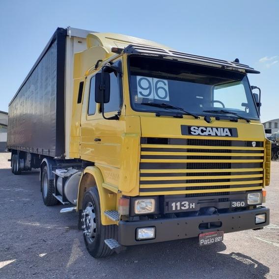 Conjunto Scania R113 H360 Ano 96 + Carreta Sider Randon 2005