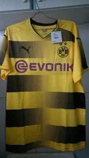 Camisa Do Borussia Dortmund Original Puma Na Etiqueta