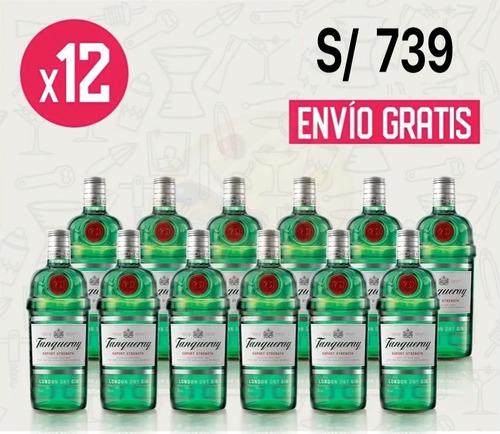 Gin Tanqueray London Dry Pack X 12 - 750 Ml C/u