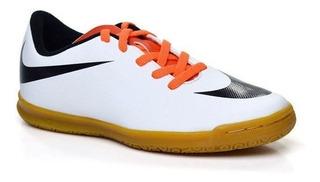 Tênis Nike Bravata Ic Futsal Infantil Original + Nf