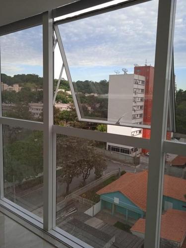 Imagem 1 de 8 de Sala Comercial Para Locação Em Volta Redonda, Vila Sta Cecília, 1 Banheiro - Al109_1-1917375